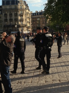 French Police at Notre Dame